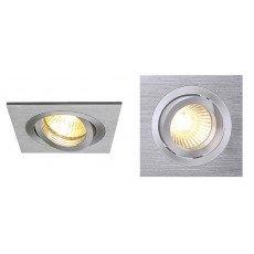 Lampadadiretta Basic Porta Faretti ad Incasso Quadrati per Alogene/LED regolabili