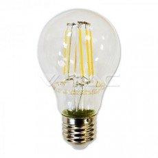 Lampadina a filamento LED E27 8W A67 4500K