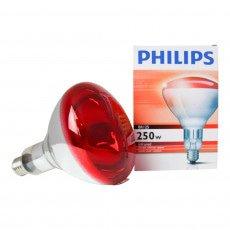 Philips BR125 IR 250W E27 230-250V Rossa