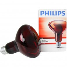 Philips R95 IR 100W E27 230V Rossa