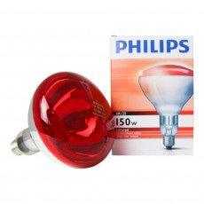 Philips BR125 IR 150W E27 230-250V Rossa