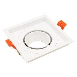 Ring 110mm per Aron Spot - Bianco - Quadrato Inclinabile