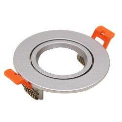 Ring 85mm per Aron Spot - Alluminio Spazzolato - Rotondo Inclinabile