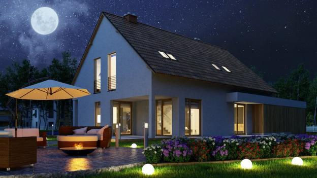 Come decorare una terrazza con lampade LED