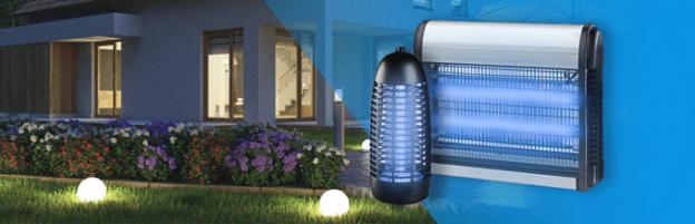 Gli accessori must-have per l'estate: lampade antizanzare