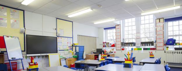 Illuminazione LED per le scuole