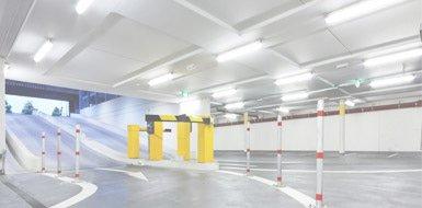 illuminazione parcheggi