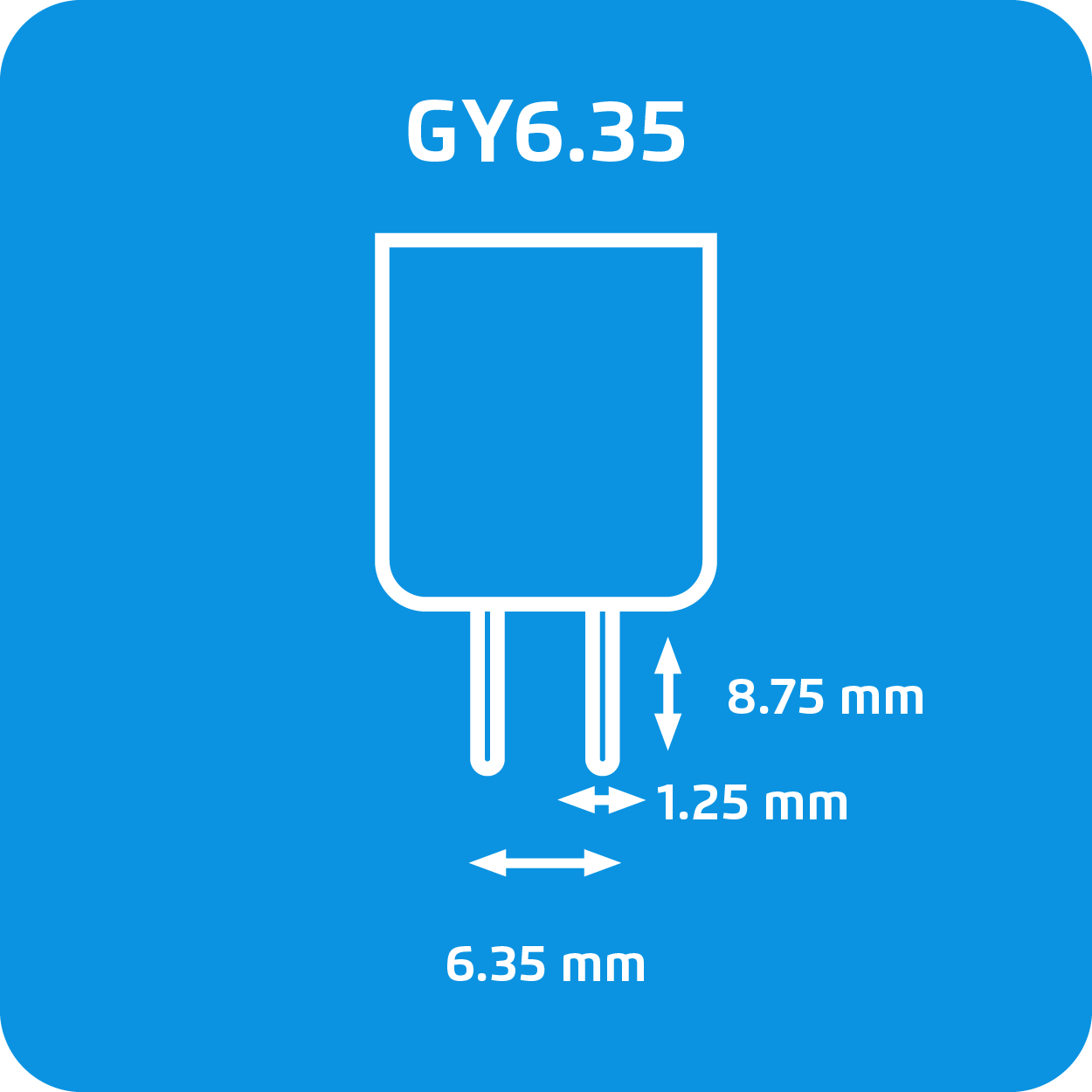 Lampadine alogene GY6.35 Philips - immagine attacco