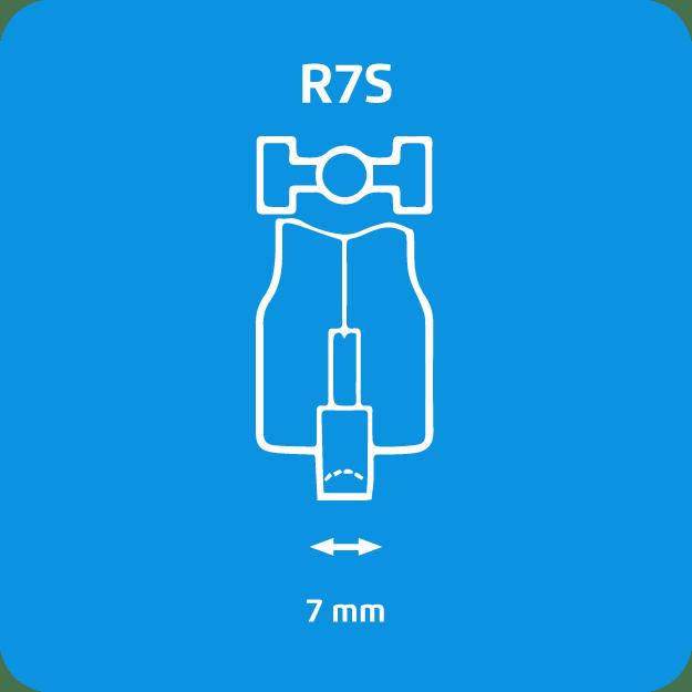 Lampadine alogene R7s Philips - immagine attacco