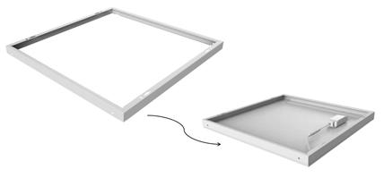 pannelli led cornice