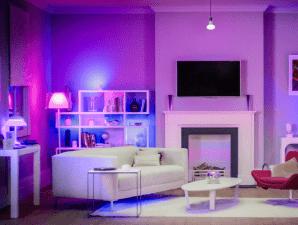 Philips HUE permette di creare infinite combinazioni di luce