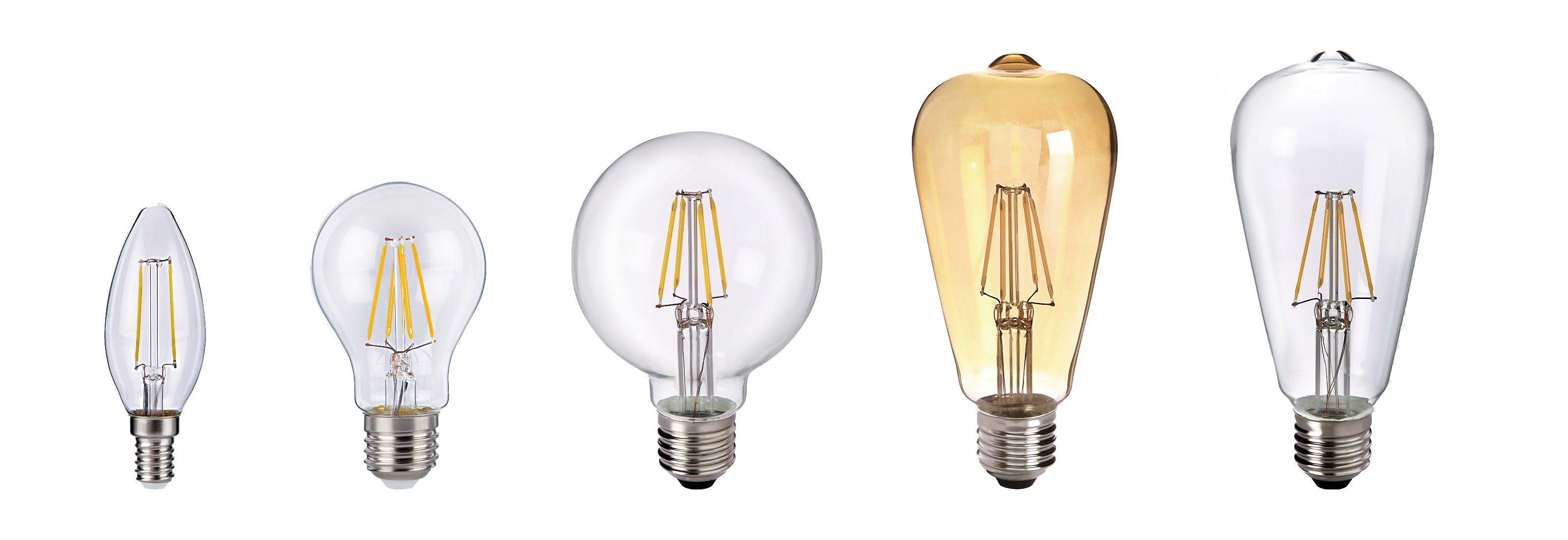 forme lampadine e27